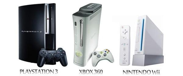 Xbox 360, PS3 e Wii
