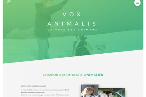 Vox Animalis – Sito WordPress responsive per comportamentista animale